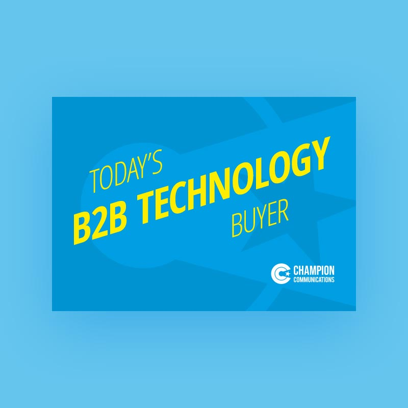 Introducing Today's B2B Technology Buyer